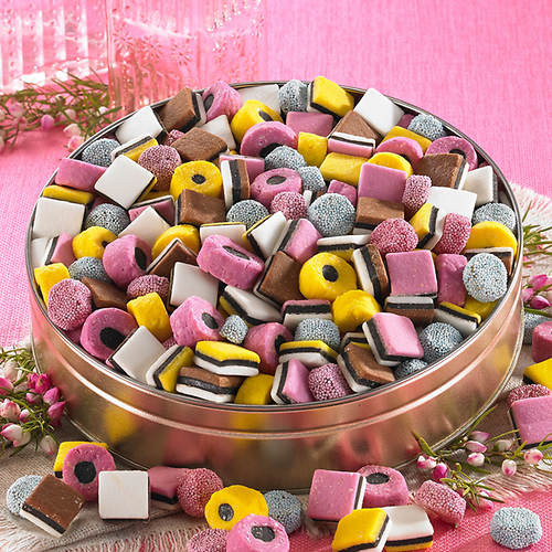 Healthy Snacks For Sweet Cravings  Sweet Cravings Snack Tins Licorice Allsorts