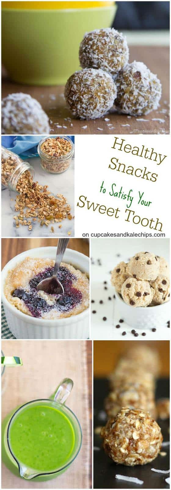 Healthy Snacks For Sweet Tooth  25 Healthy Snacks to Satisfy Your Sweet Tooth Cupcakes