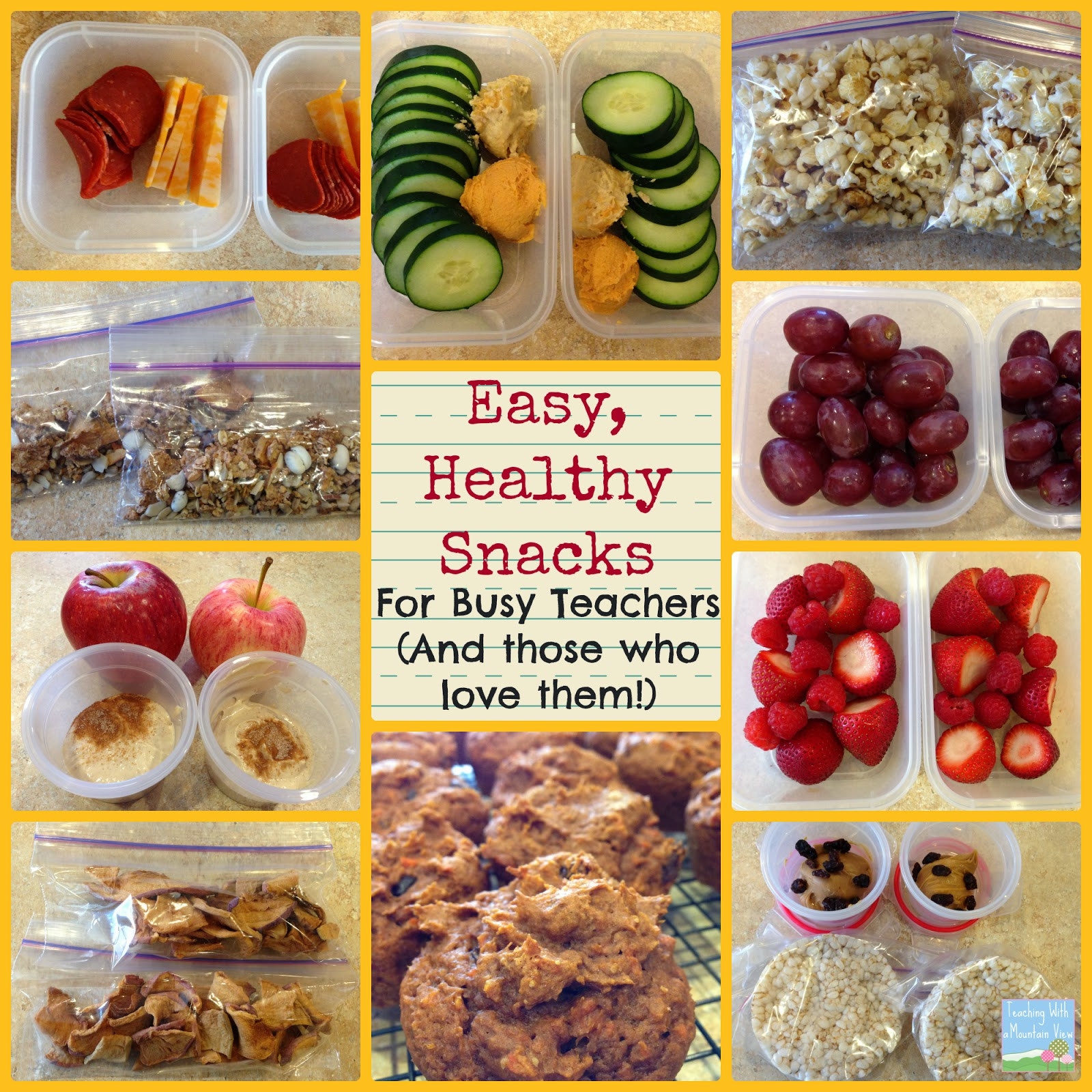 Healthy Snacks for Teachers 20 Of the Best Ideas for Teaching with A Mountain View Smart Eats