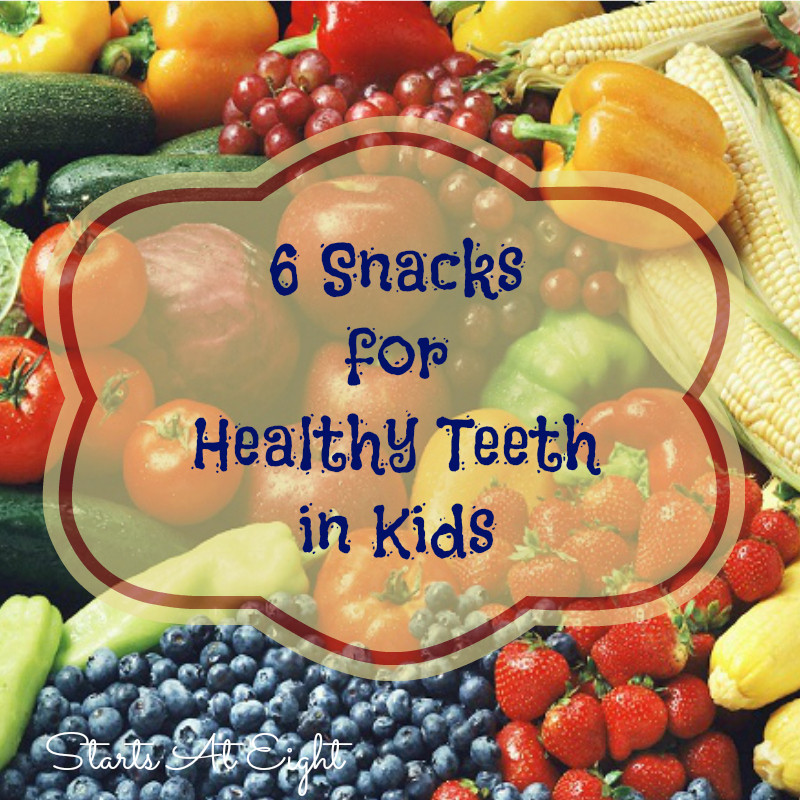 Healthy Snacks For Teeth  6 Snacks For Healthy Teeth in Kids StartsAtEight