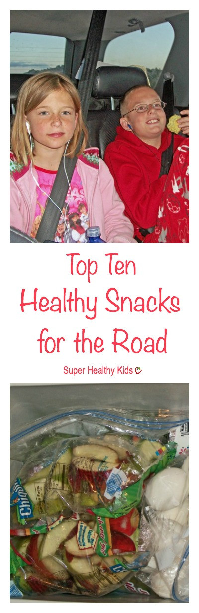 Healthy Snacks For The Road  Top Ten Healthy Snacks for the Road
