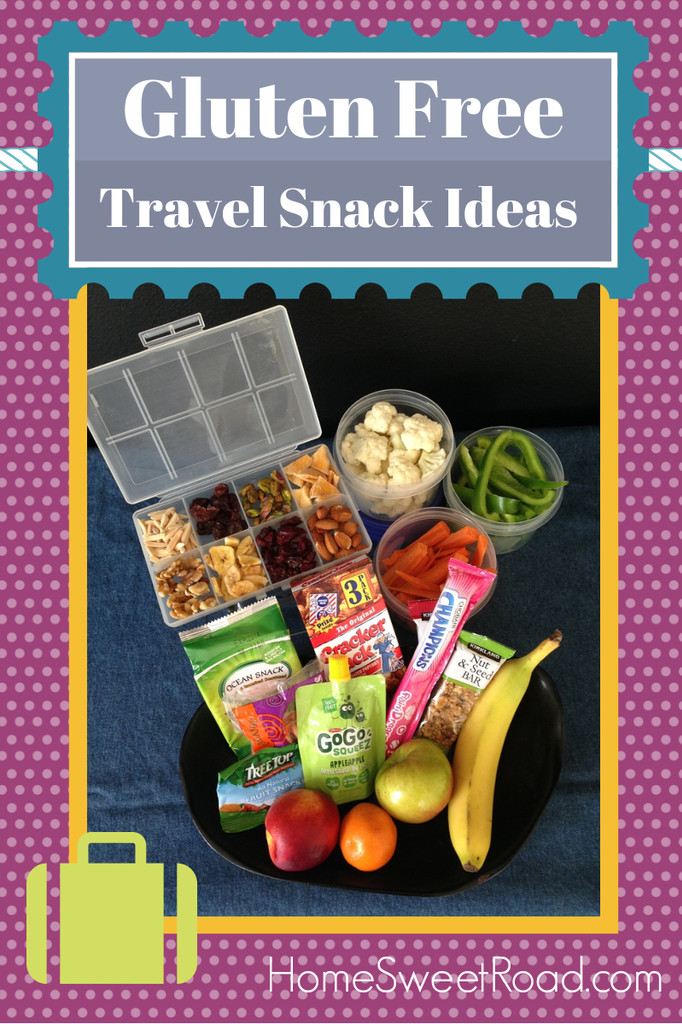 Healthy Snacks For The Road  Healthy Snacks for the Road Gluten Free Home Sweet Road