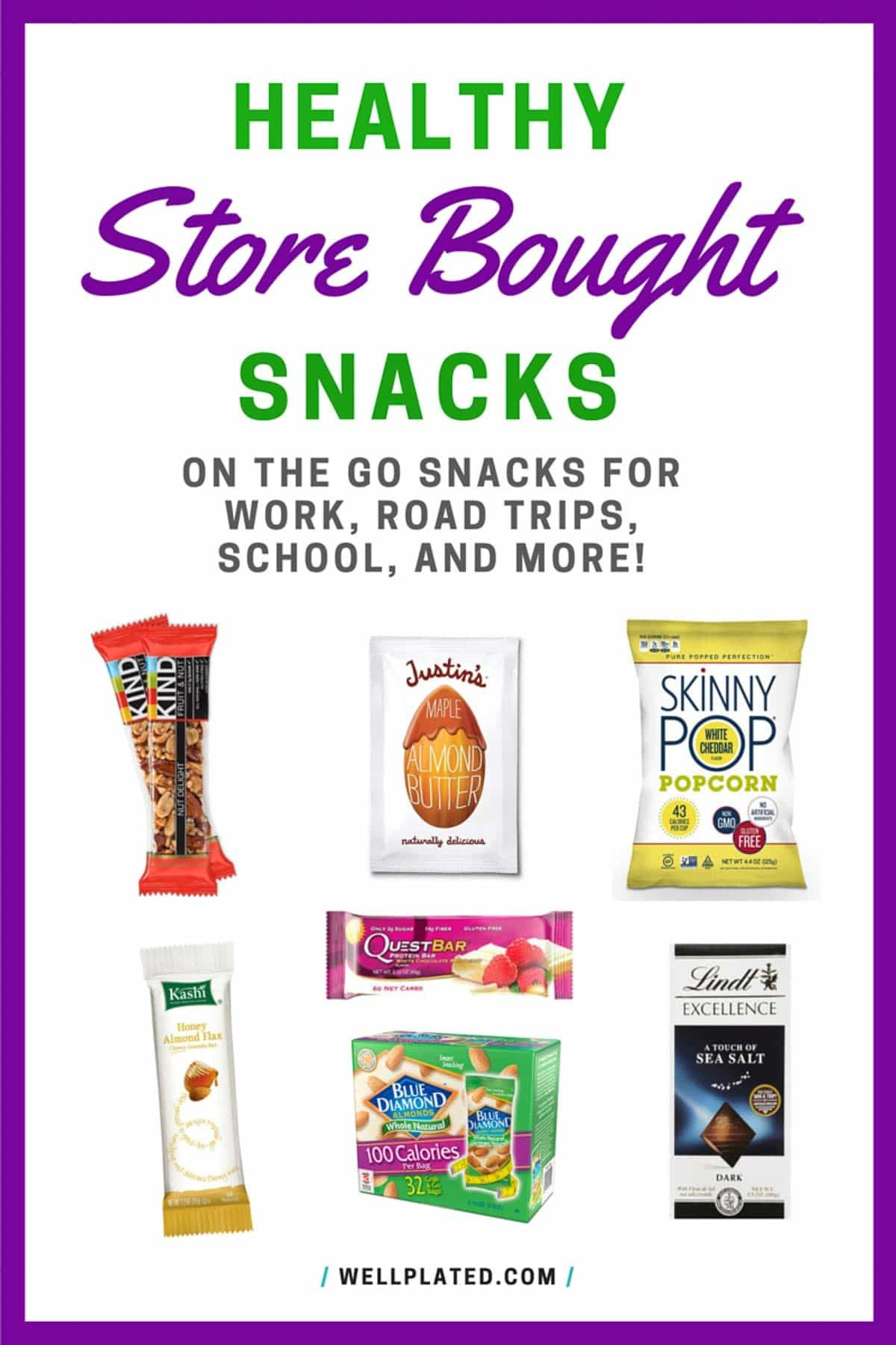Healthy Snacks For The Road  The Best Healthy Store Bought Snacks