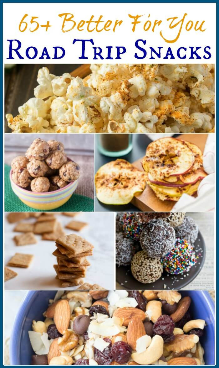 Healthy Snacks For The Road  Who says road trips need to be all about the junk food