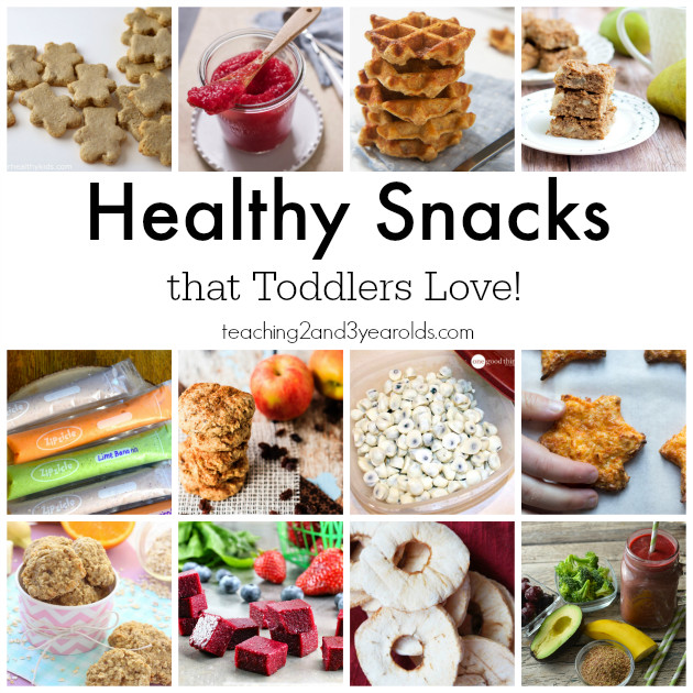 Healthy Snacks For Toddlers  Healthy Snacks for Toddlers