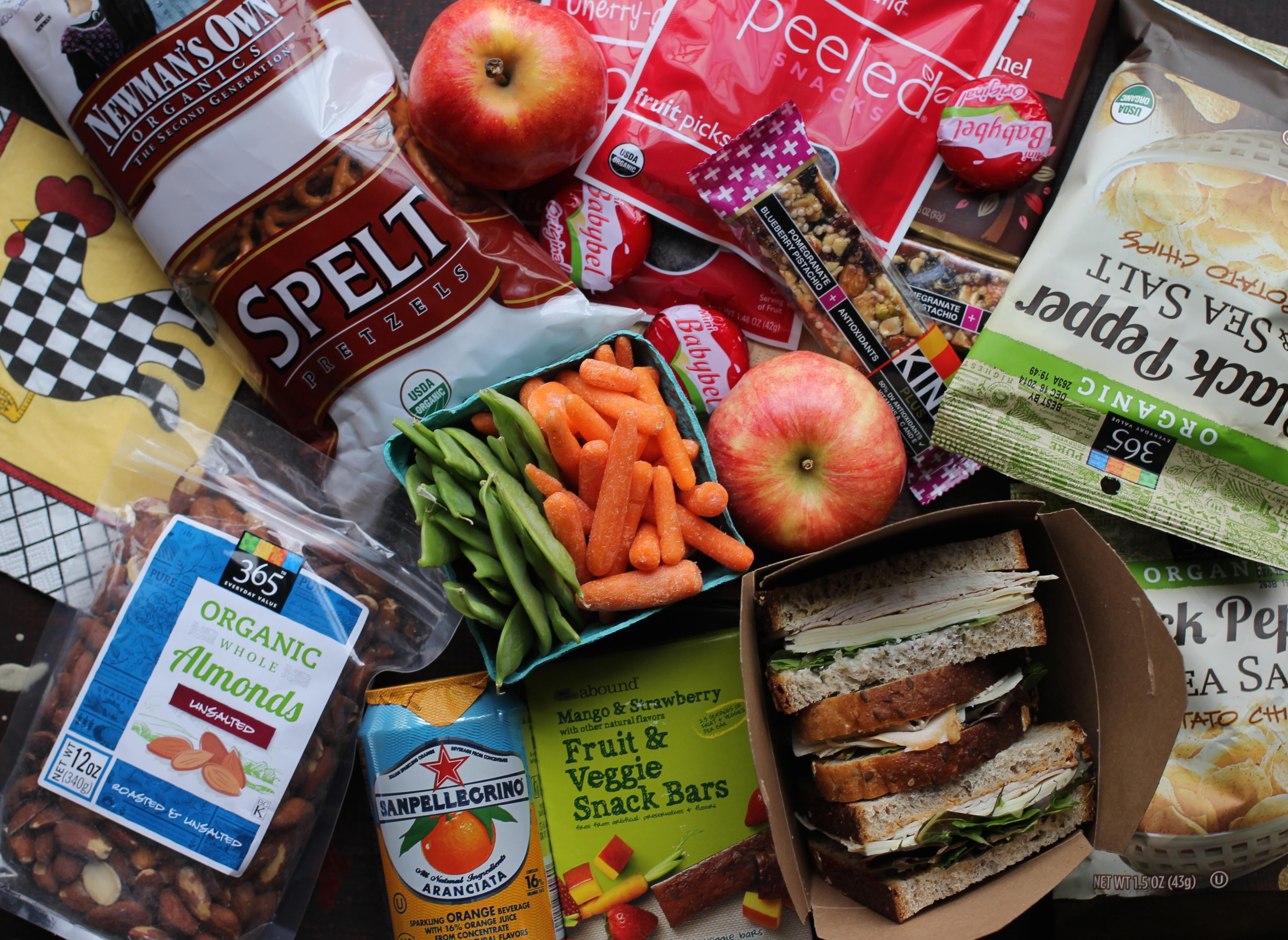 Healthy Snacks For Traveling In The Car  Snacks The Go Travel Snacks