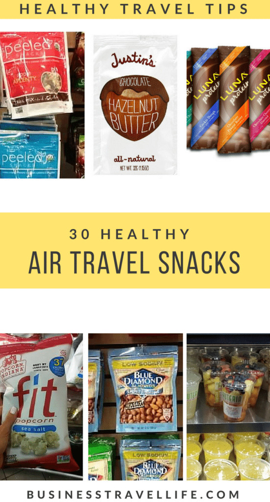 Healthy Snacks For Traveling  30 Healthy Travel Snacks For Flying Business Travel Life