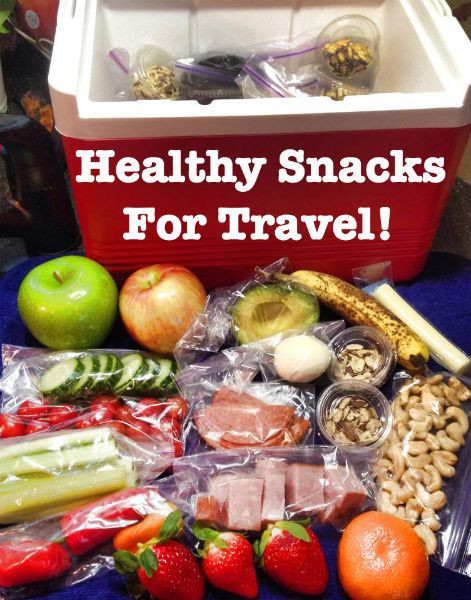 Healthy Snacks For Traveling  Paleo healthy snacks for travel Eat clean while on a road