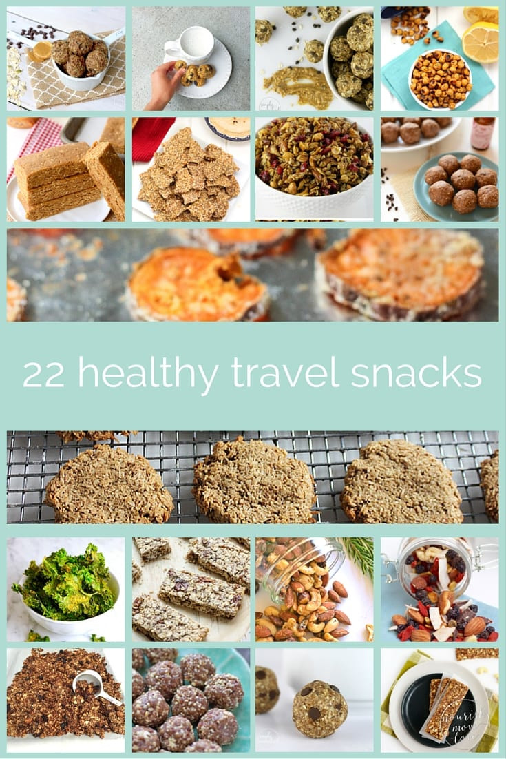 Healthy Snacks For Trips  healthy travel snacks