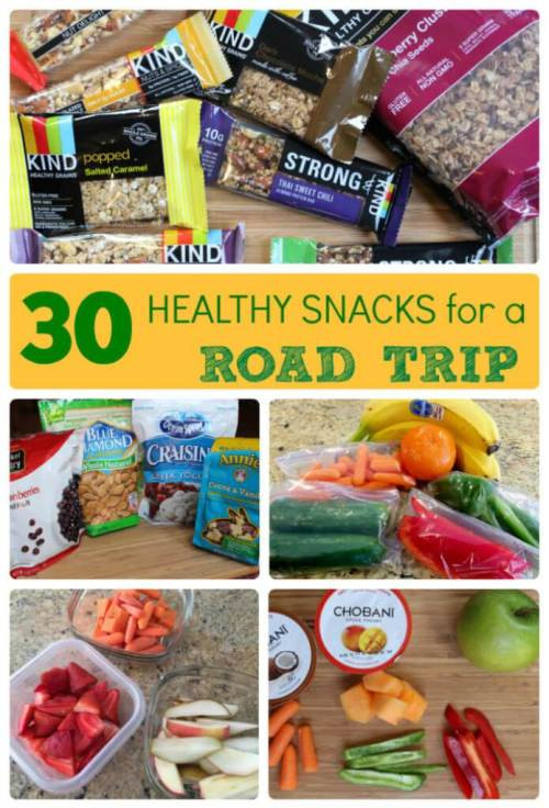 Healthy Snacks For Trips  30 Healthy Snacks for a Road Trip Mom to Mom Nutrition