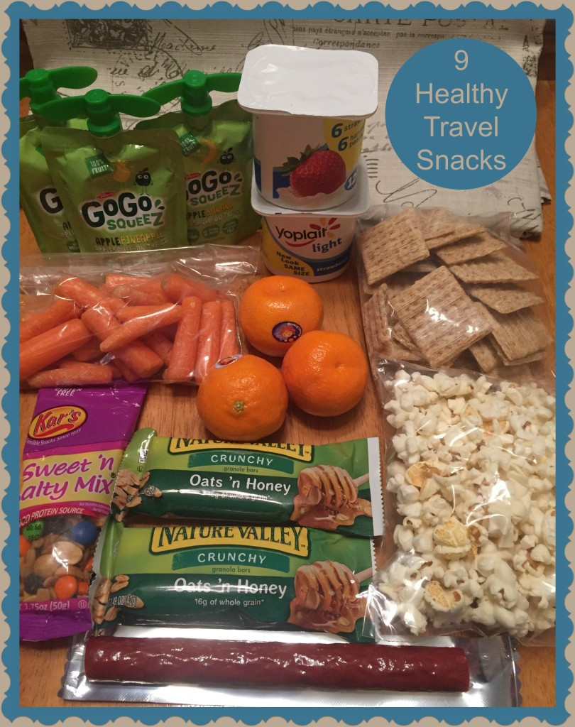 Healthy Snacks For Trips  Travel Snacks The Crafting Chicks