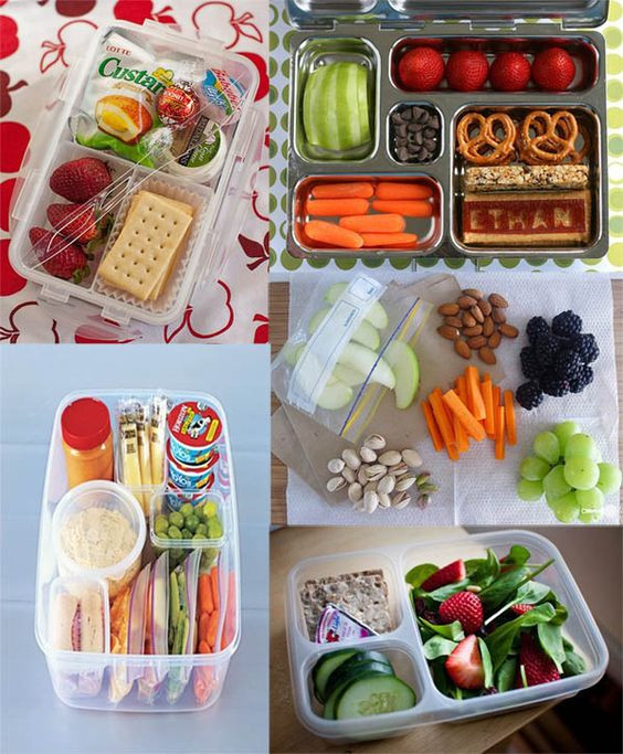 Healthy Snacks For Trips  tons of healthy travel snack ideas [Not just for kids