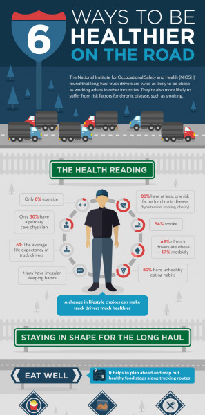 Healthy Snacks For Truck Drivers  Food & Health Infographics NerdGraph Infographics