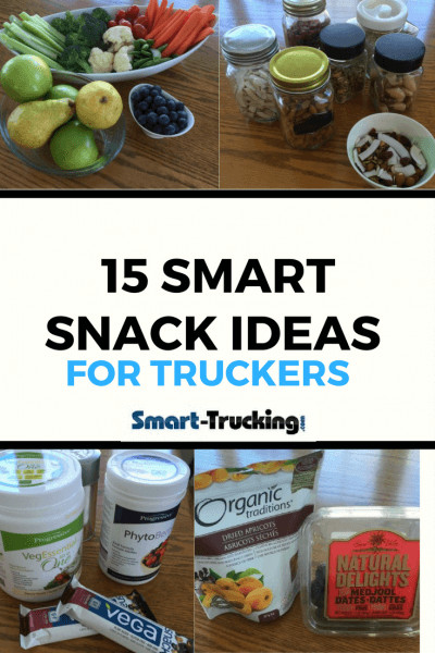 Healthy Snacks For Truck Drivers  15 Simple Smart Healthy Snacks For Truckers