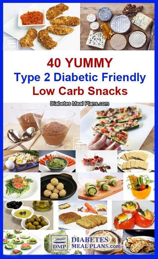Healthy Snacks For Type 2 Diabetics  40 Low Carb Snacks for Diabetics