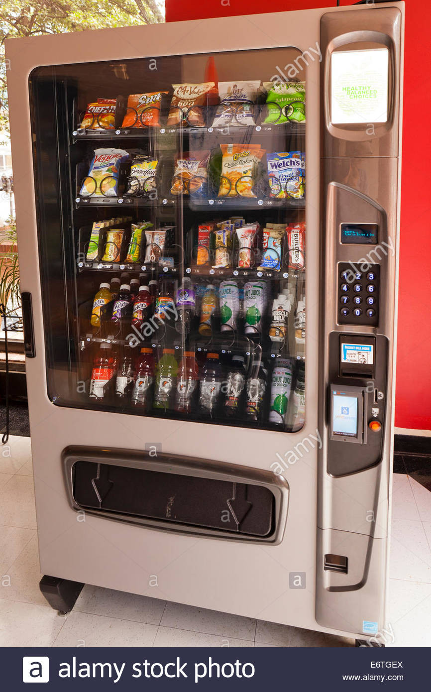 Healthy Snacks For Vending Machines  Healthy snacks and juices in gym vending machine USA