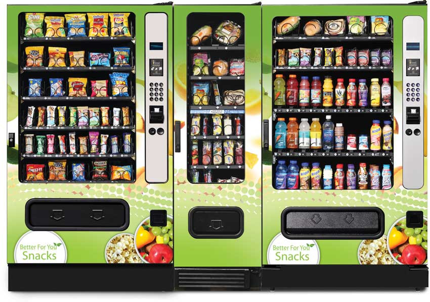 Healthy Snacks For Vending Machines  Vending School Snack Shop