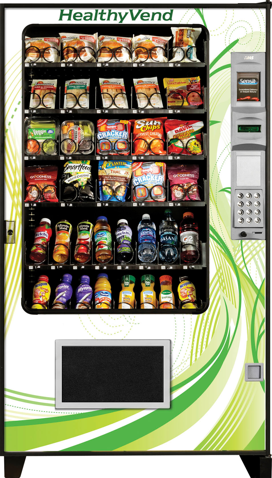 Healthy Snacks For Vending Machines  Healthy Machine