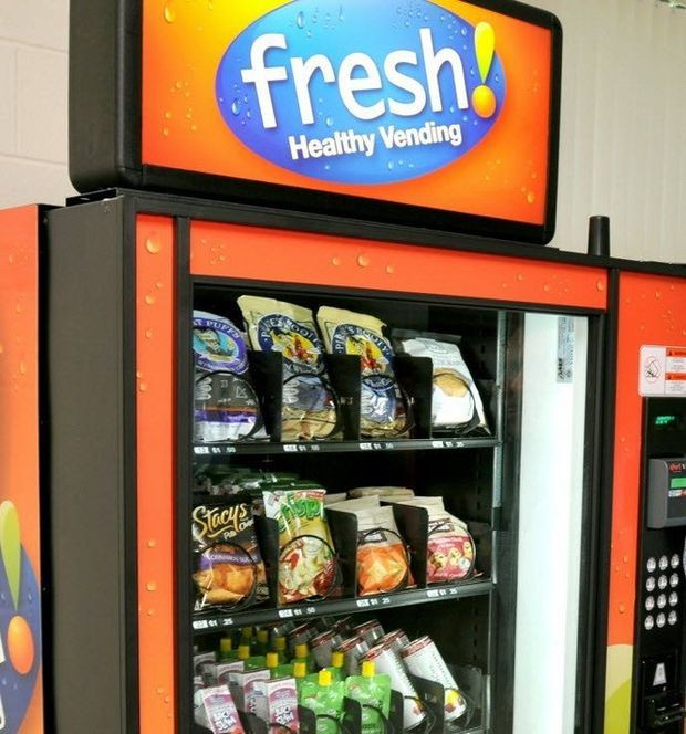 Healthy Snacks For Vending Machines  Editorial Vending machine food adds up to poor health