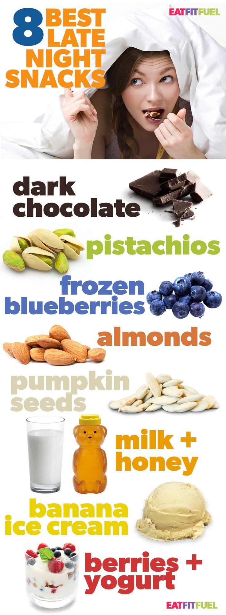 Healthy Snacks For Weight Loss At Night  healthy foods to eat at night to lose weight