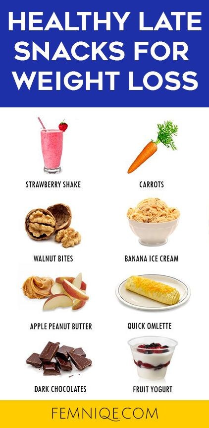 Healthy Snacks For Weight Loss  healthy foods to eat at night to lose weight