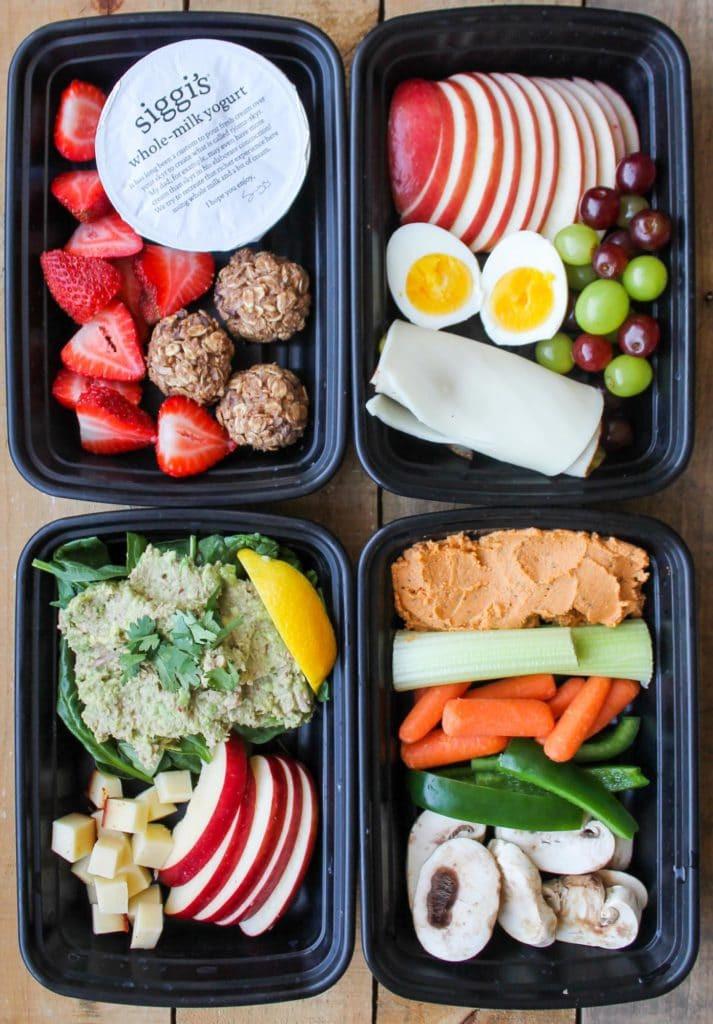 Healthy Snacks For Work  4 Healthy Snack Box Ideas Smile Sandwich