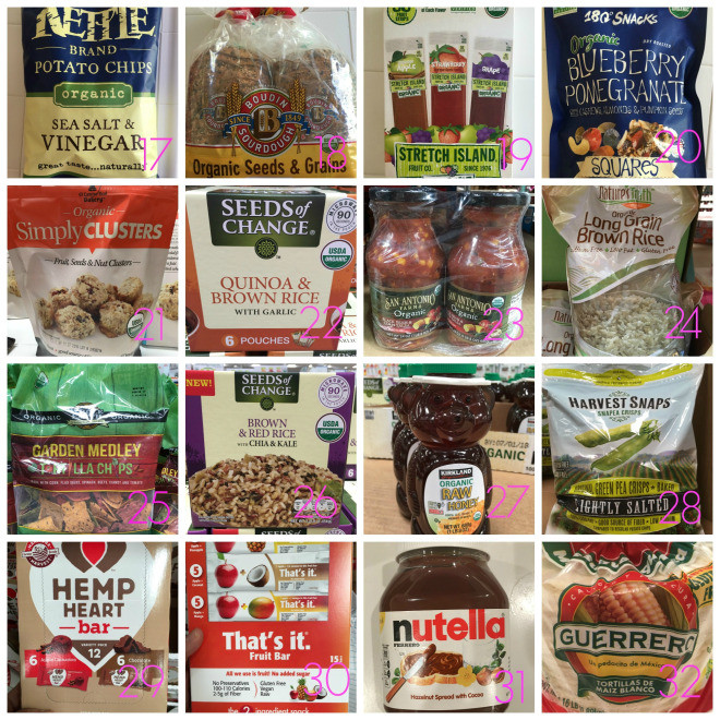 Healthy Snacks From Costco  Costco Series – Part 2 Healthy Snacks and Grocery Staples