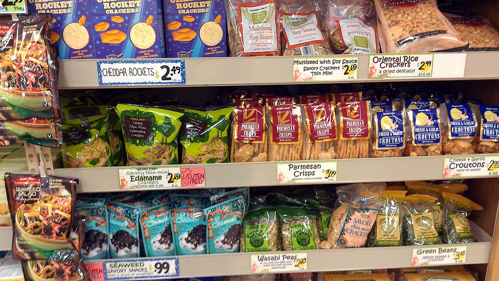 Healthy Snacks From Trader Joes  Healthy Snack Ideas at Trader Joe s