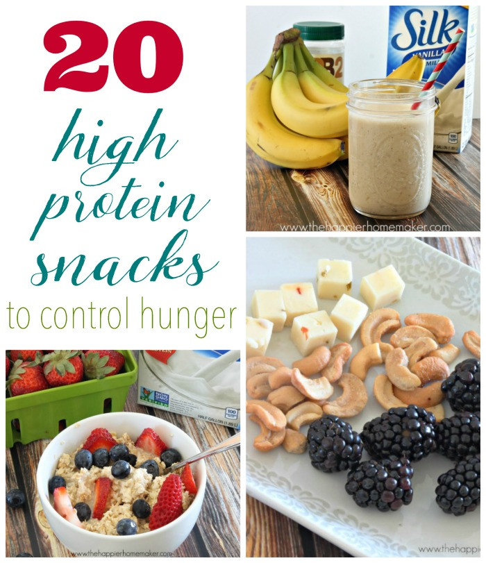 Healthy Snacks High In Protein  20 High Protein Snacks to Control Hunger