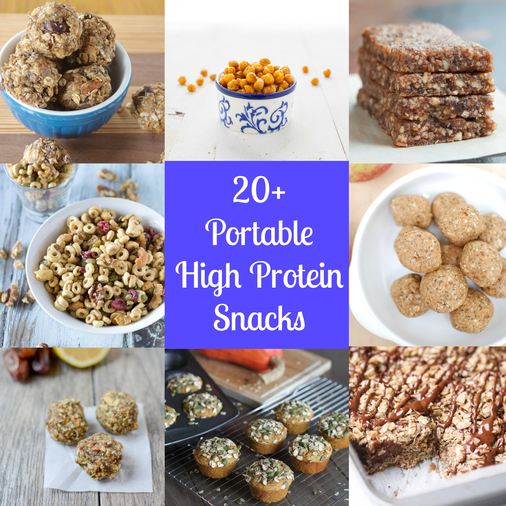 Healthy Snacks High In Protein  Portable High Protein Snacks