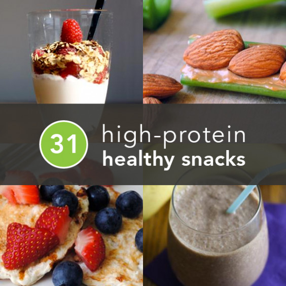 Healthy Snacks High In Protein  High Protein Snacks 31 Healthy and Portable Snack Ideas