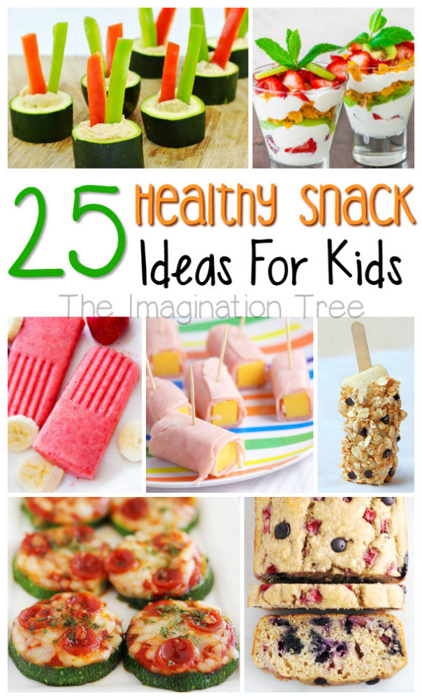 Healthy Snacks Kids  Healthy Snacks for Kids The Imagination Tree