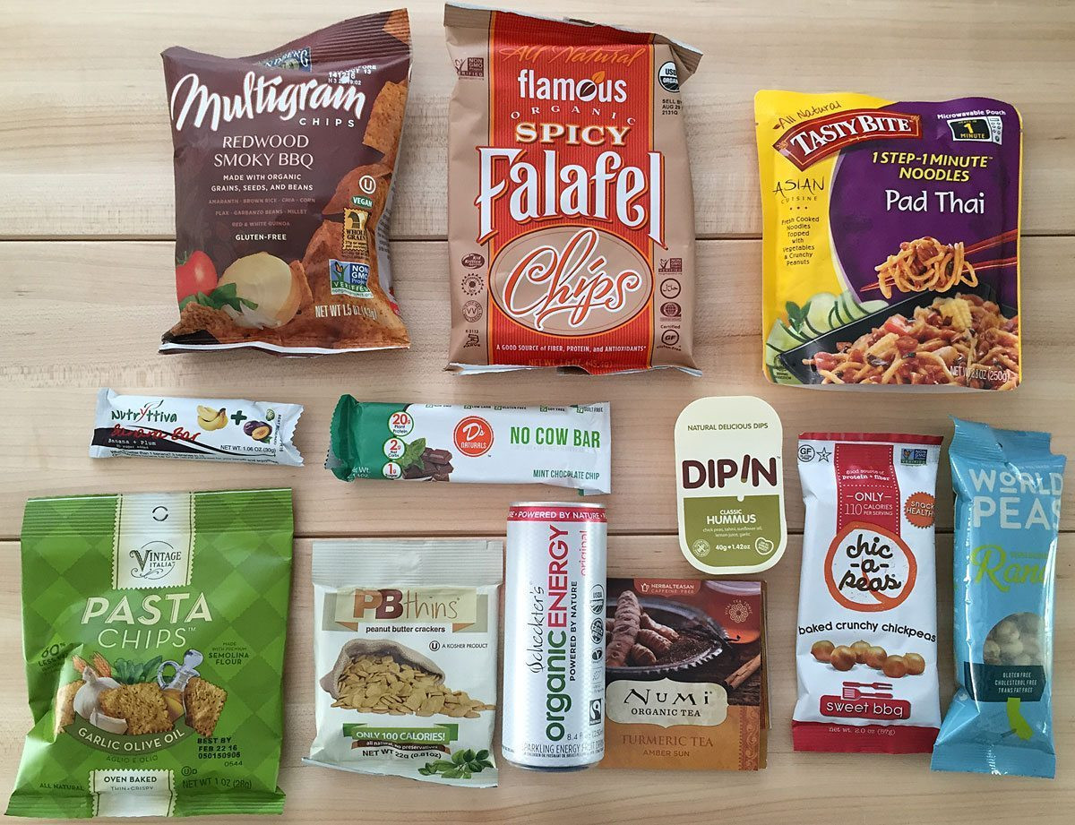 Healthy Snacks Monthly  Tasty Healthy Snacks Delivered Monthly From VeganCuts