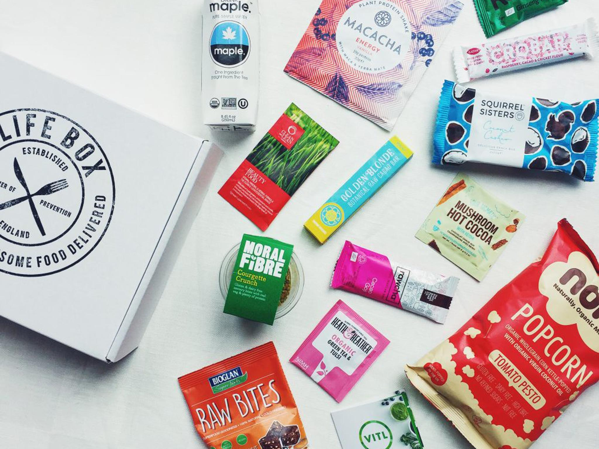 Healthy Snacks Monthly  11 best healthy food subscription boxes