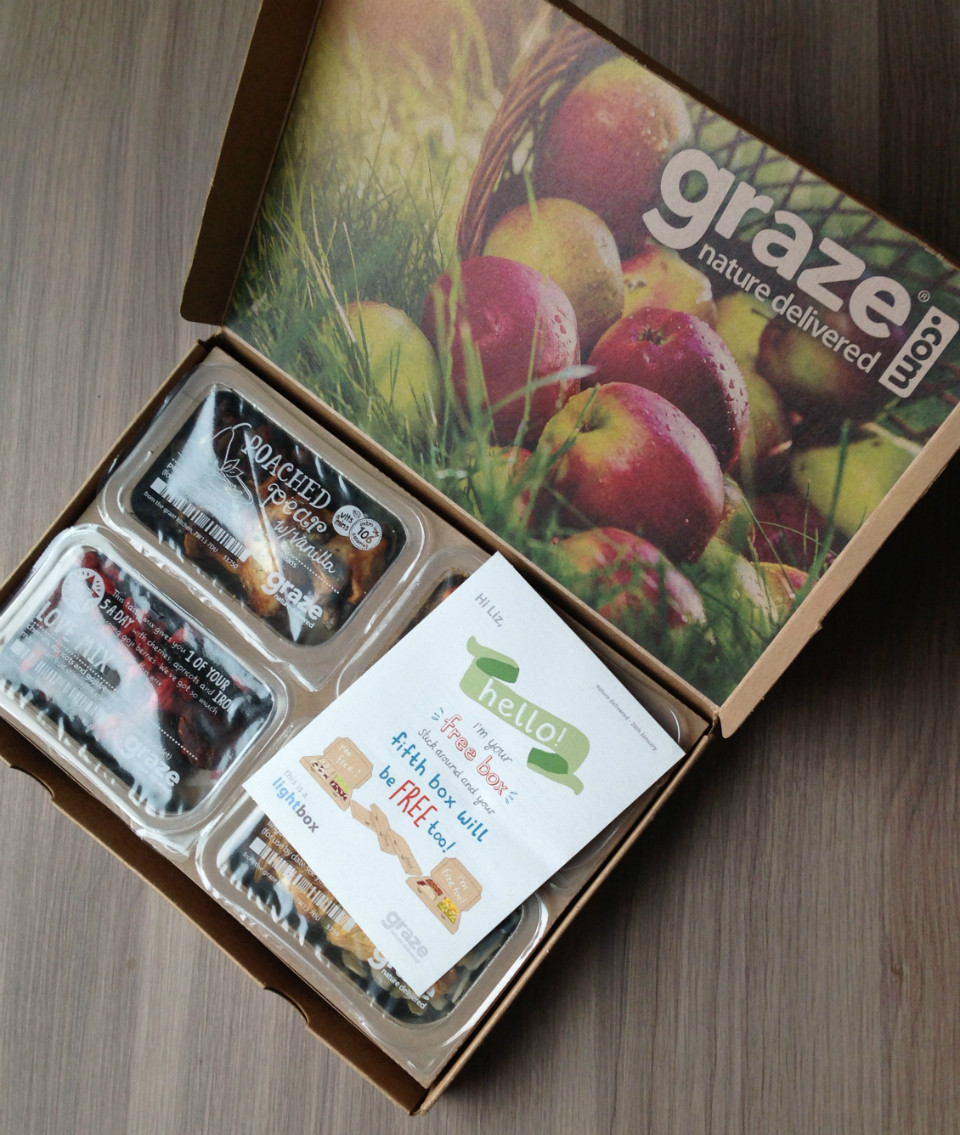 Healthy Snacks Monthly Best 20 Graze Snack Box Review – February 2013 – Monthly Healthy