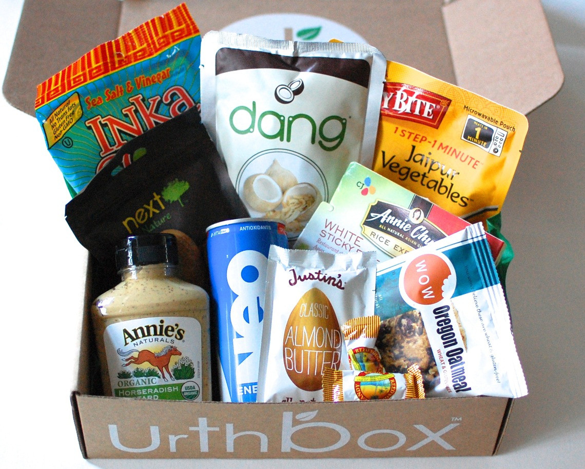 Healthy Snacks Monthly  UrthBox Healthy Snacks Delivered Monthly