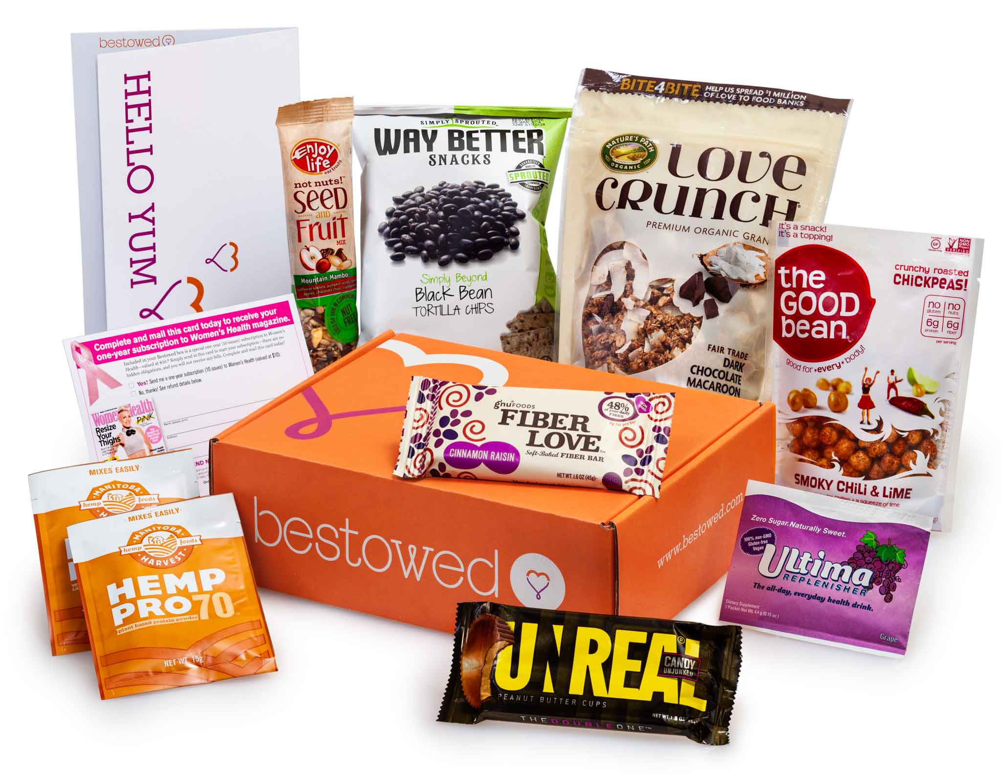 Healthy Snacks Monthly  Best Subscription Box Gifts For Under $25 A Month