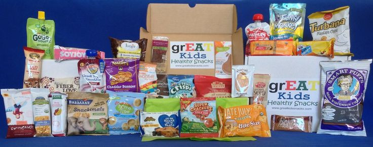 Healthy Snacks Monthly  GREAT Kids Snack Box 30 new and different snacks