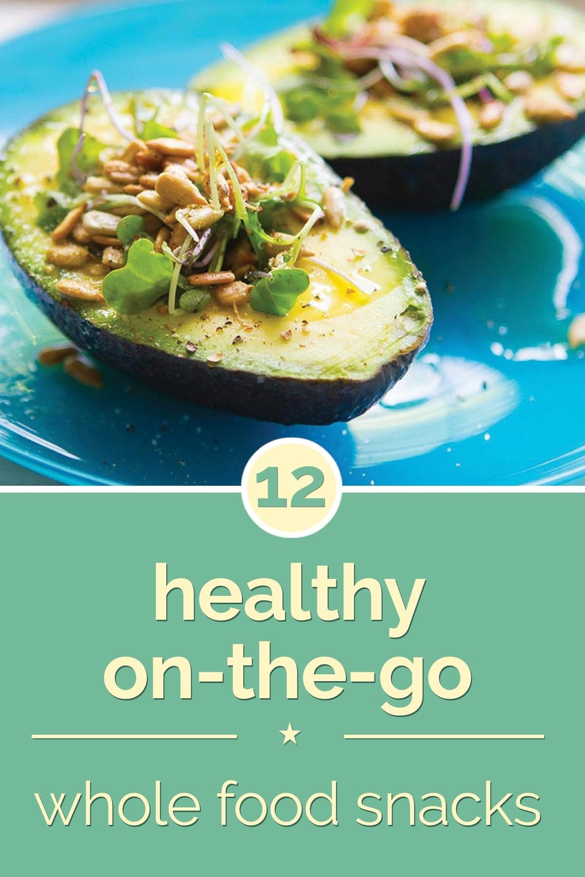 Healthy Snacks On The Go  12 Healthy the Go Whole Food Snacks thegoodstuff