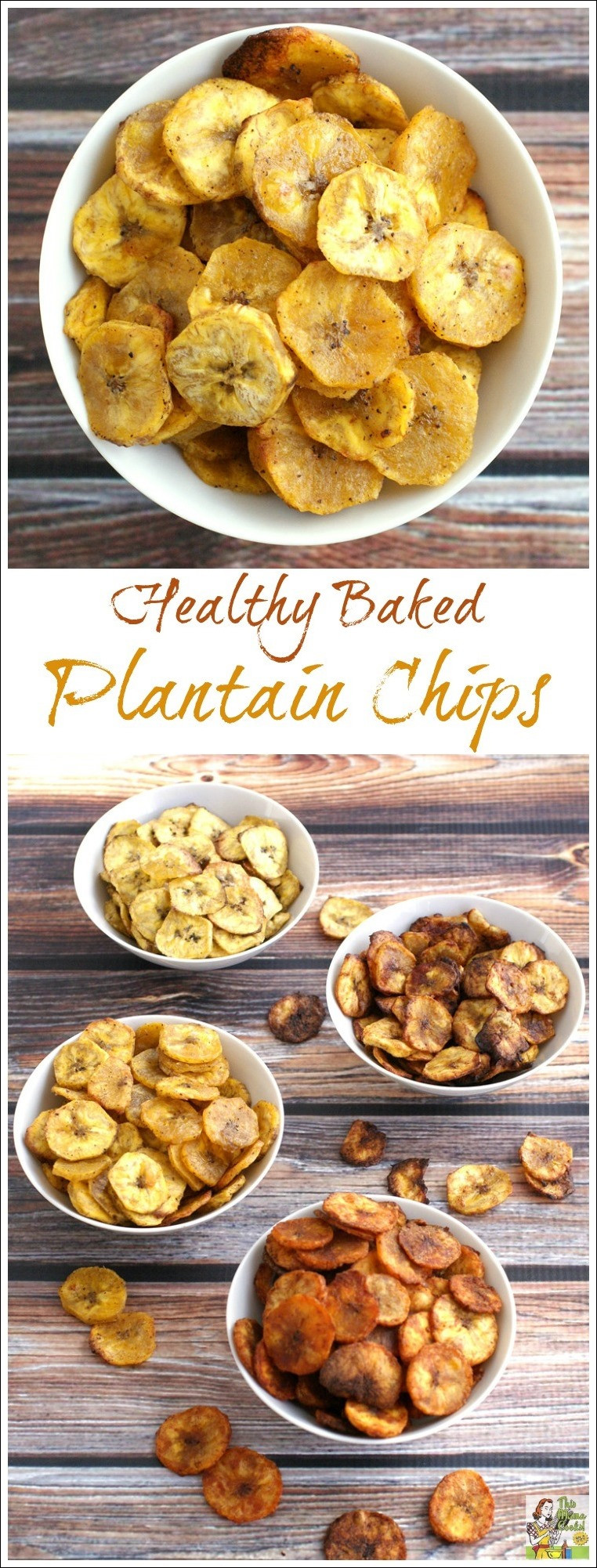 Healthy Snacks Recipes  Healthy Baked Plantain Chips Four Ways