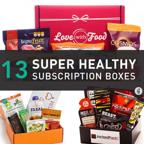 Healthy Snacks Subscription  The 13 Best and Healthiest Food Subscription Boxes