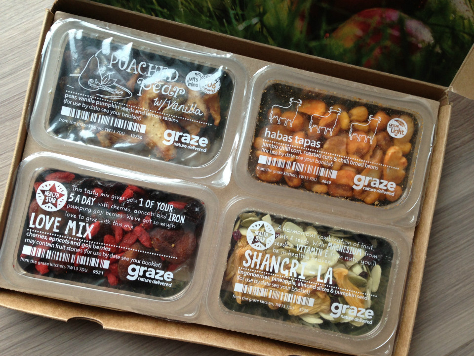 Healthy Snacks Subscription  Graze Snack Box Review – February 2013 – Monthly Healthy