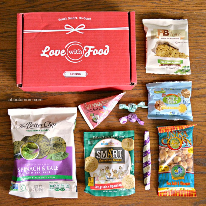 Healthy Snacks Subscription  Snack Smart and Do Good with a Love With Food Subscription