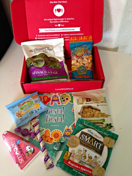 Healthy Snacks Subscription  Love With Food Healthy Snack Subscription Box with
