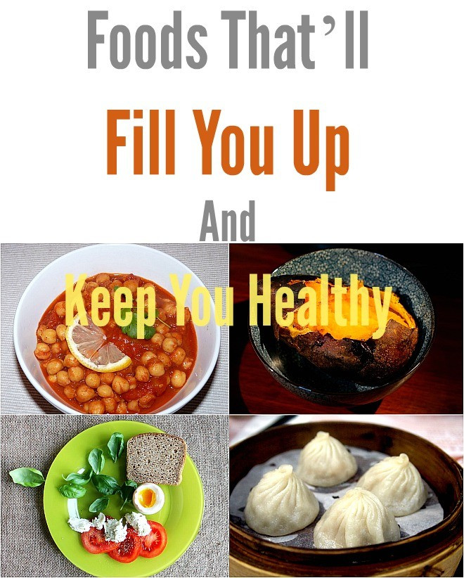 Healthy Snacks That Fill You Up  Foods That'll Fill You Up And Keep You Healthy