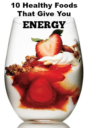Healthy Snacks That Give You Energy  Best Workout Plans 10 Healthy Foods that Give You ENERGY