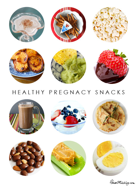 Healthy Snacks Throughout The Day  Healthy pregnancy snack ideas