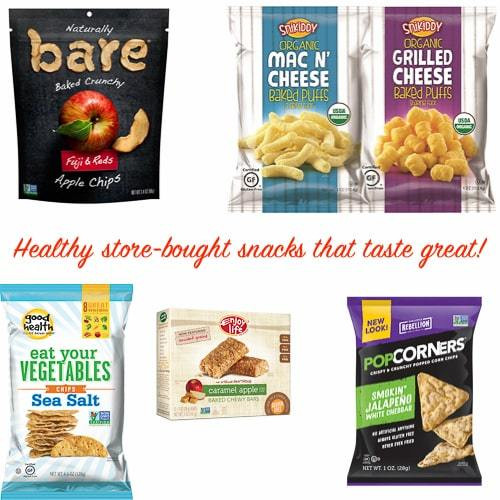 Healthy Snacks To Buy At The Store  Healthy Store Bought Snacks for Kids Little Sweet Baker