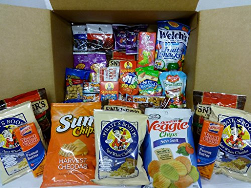 Healthy Snacks To Buy At The Store  Healthy Snacks In a box College Military New Years