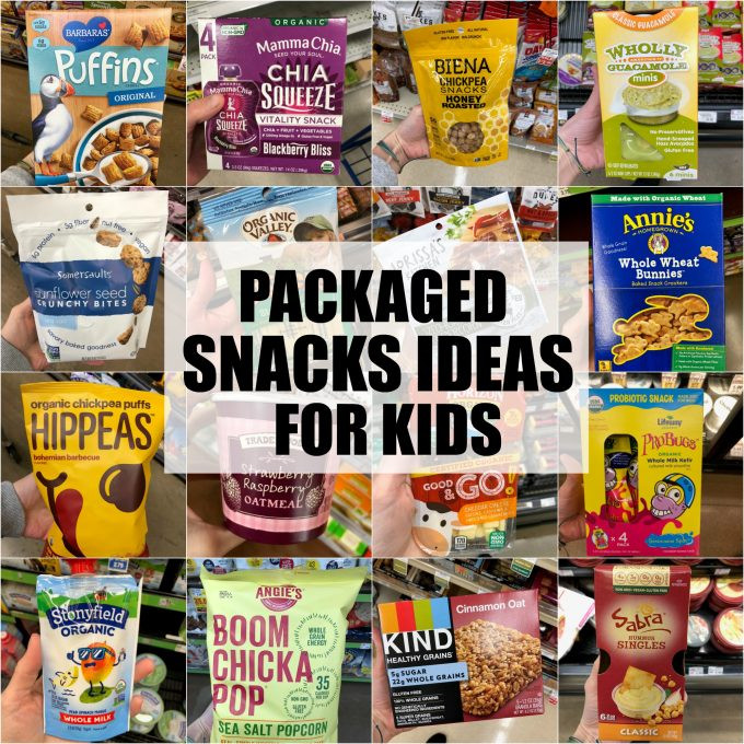 Healthy Snacks To Buy At The Store  60 Healthy Packaged Snacks For Kids